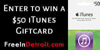 Win A $50 iTunes Giftcard from WROM Radio & FreeInDetroit.com