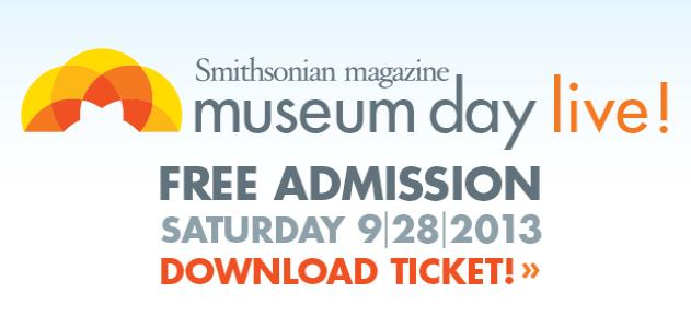 Museum Day Live! gets you free admission to Museums in Michigan