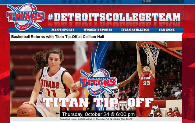 Free Event : Detroit Titans Basketball Returns with Titan Tip-Off at Calihan Hall