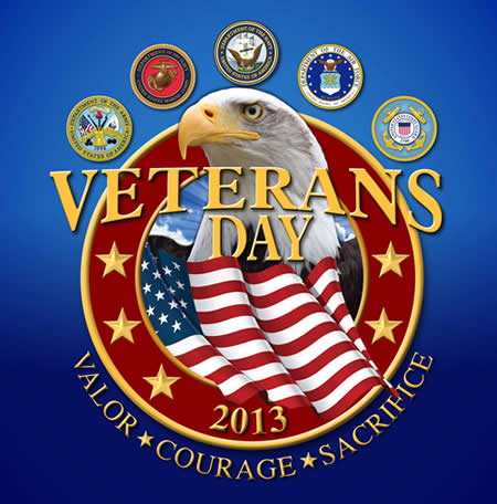 Veterans Day 2013 FREE MEALS FOR VETERANS 50+ Restaurants (Updated 11