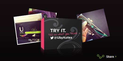 Free Samples from Kotex | @ubykotex