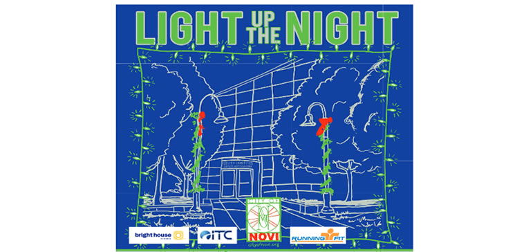 Light Up the Night in Novi! Join family & friends for holiday fun on Friday, December 6