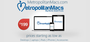 Techie Giveaway : Win An IPad from Metropolitan Macs