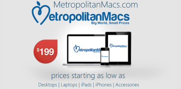 Tech Giveaway : Win An iPad from Metropolitan Macs - A Michigan Based Tech Company. Metropolitan Macs sells top quality Apple refurbished in the Metro Detroit Area and ships them Nation Wide.