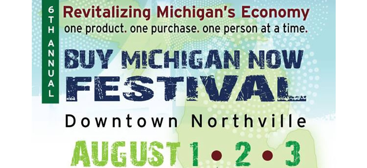 Buy Michigan Now Festival – Downtown Northville Aug 1-3