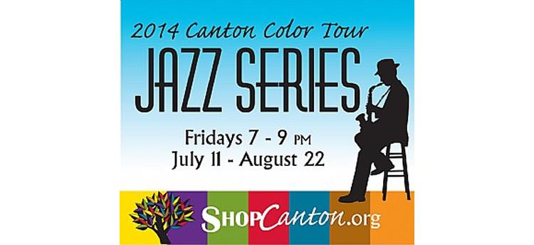 Canton Color Tour – live jazz concert series – July 11 – Aug 22
