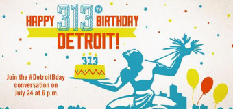 Detroit Birthday Tweetup by  @VisitDetroit