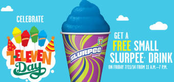 Free Slurpees as 7-Eleven celebrates 7/11 + More Freebies