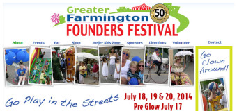 Greater Farmington Founders Festival in Farmington July 18-20