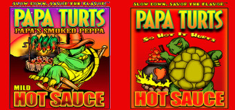 Win A Year's Supply Of Gourmet Hot Sauce from Papa Turts #Foodie