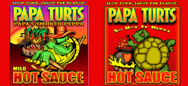 Foodie Giveaway : Win a Giftset from Papa Turts HotSauce – All Natural