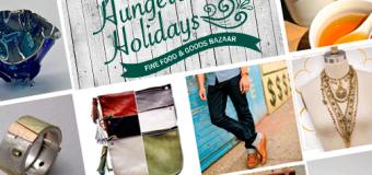 "INAUGURAL ""HUNGER-FREE HOLIDAYS"" BAZAAR BENEFITS GLEANERS COMMUNITY FOOD BANK"