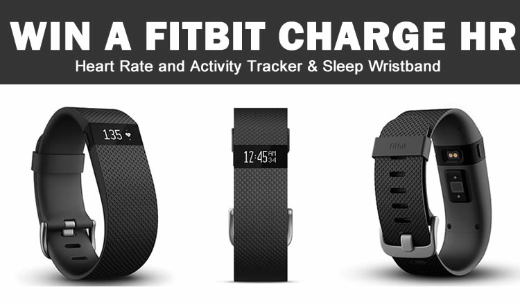 Win A Fitbit Charge HR & Power Plate Fitness Sessions
