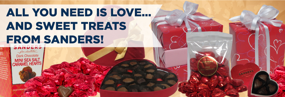 Enter to Win 5 Sanders Candy Gift Cards – Valentine's Day Giveaway
