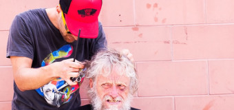 Free Haircuts (and more) For Homeless at PMTS4Change Cass Detroit