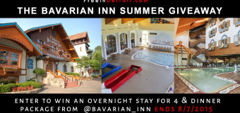 The Bavarian Inn Weekend Getaway – Dinner & Hotel Included (4 people) ENDS 8/9/15