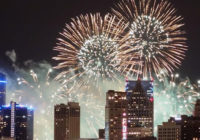 July 4th Weekend Fireworks Displays In Michigan by Date