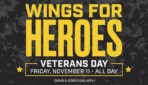 Free wings and fries at Buffalo Wild Wings Veterans Day 2016